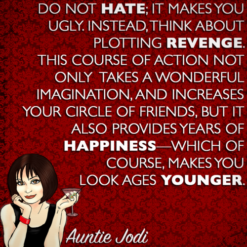 Auntie Jodi's Hint #12