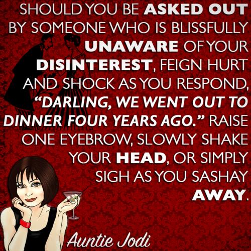 Auntie Jodi's Hint #13