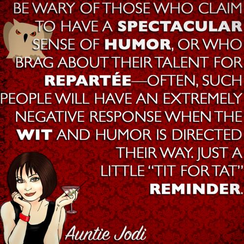 Auntie Jodi's Hint #16
