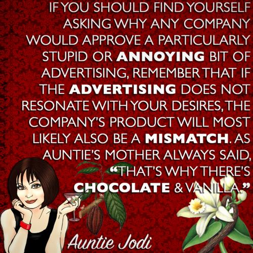 Auntie Jodi's Hint #19
